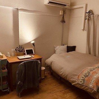 ユニットタイプ(2号棟)※写真は別部屋のもの・家具は一部サンプルです