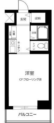スカイコートエクセレント荻窪(エクセレント荻窪・平井ビル)の間取り