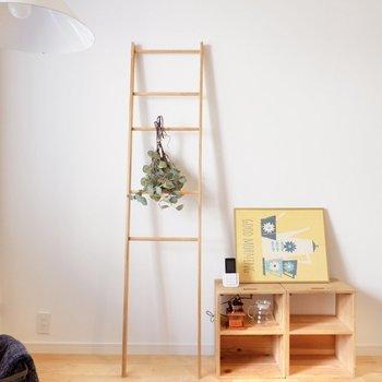 木製家具や北欧テイストで纏めたいな。