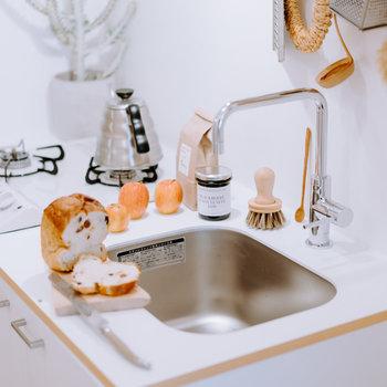 【イメージ】キッチンは2口ガスのオリジナルデザイン