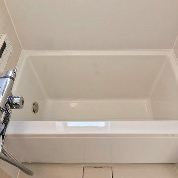 浴槽は少しコンパクトですが、リラックスできそうです♩