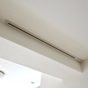 天井にはライティングレールもありました!