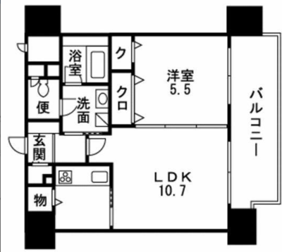 Casa Hakata-Eastの間取り