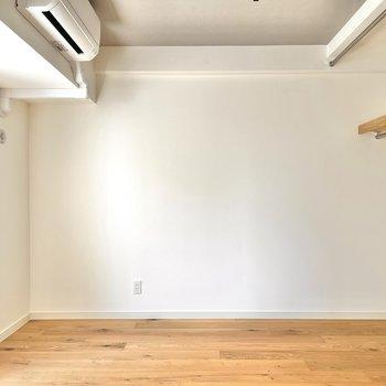 居室は横に長いつくりで、家具の配置がしやすいですよ。