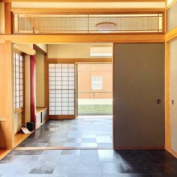 【4.5帖】テレビ端子はこのお部屋にあります。ここは主に寛ぐ空間になりそうです。