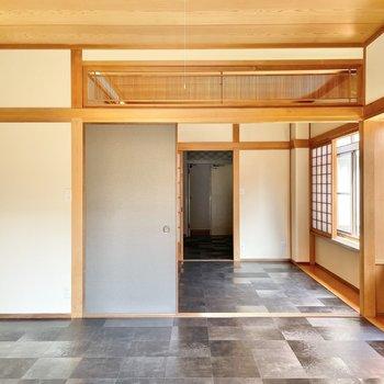 【6帖】ここは主に寝室、書斎部屋、趣味空間となりそうです。