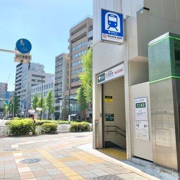 蔵前駅は階段だとA3口が近かったです。
