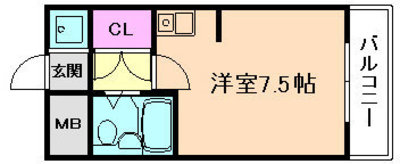 LiAnge東三国の間取り