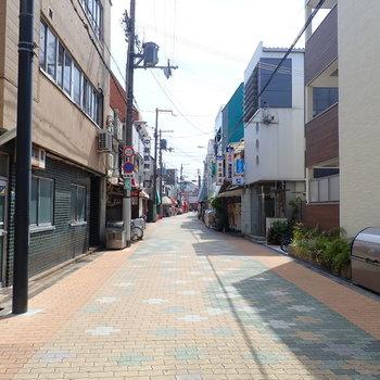 【周辺環境】ちいさな商店街を通って矢田駅まで。なんだか懐かしい。