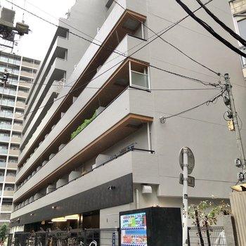 鉄骨鉄筋コンクリートの建物です。