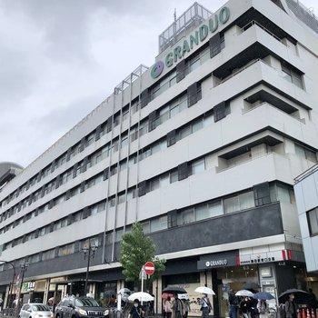 【JR蒲田駅】駅直結の商業施設もあるので、買い物にはあまり困らなさそうです。