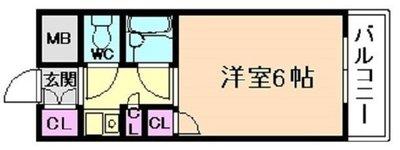 ロマネスク姫島の間取り