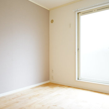 寝室もしっかり明るい!※写真は前回募集時のもの