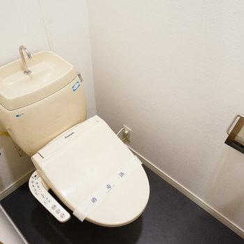 ウォシュレット付きのトイレ!※写真は前回募集時のもの
