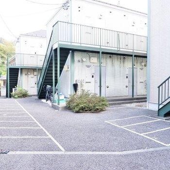 駐輪場があり、手軽な移動手段を確保できますよ。