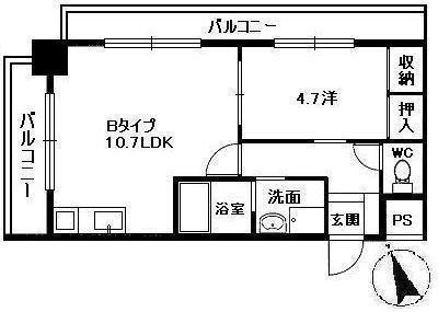 RESIDENCE西宮三篠町公園の間取り