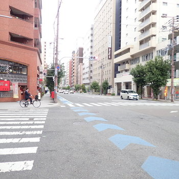 【周辺環境】本町へは歩いていけますよ~!天満橋方面には、気になるお店がたくさん隠れています。
