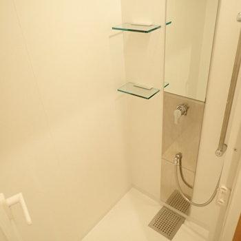 シャワールームのみでした!