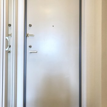 シューズボックスは......※写真は3階の同間取り別部屋のものです