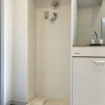 洗濯機はここに※写真は3階の同間取り別部屋のものです
