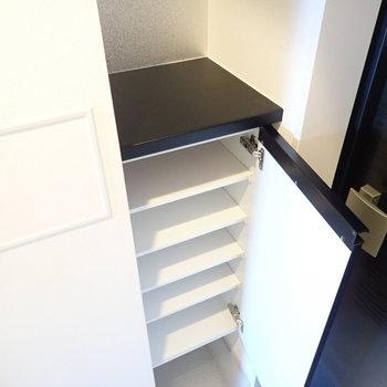 足りなければ、シューズボックスは追加しましょう!※写真は9階別部屋・同間取りのものです