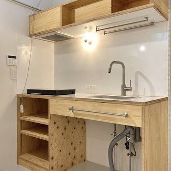 ずっとキッチンに立っていたくなるデザインですよね~