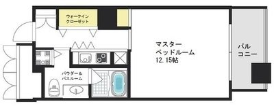 ザ・タワー大阪レジデンスの間取り