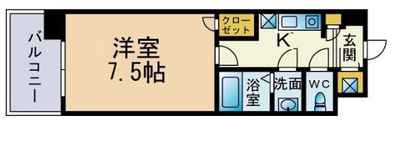 Casa di Taishokan il mare (カーサディタイショウカンイルマーレ)の間取り