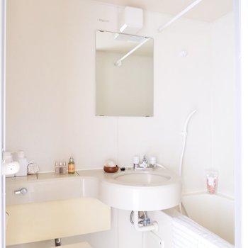 洗面台を使う際は予め換気をしておくと良いですね。