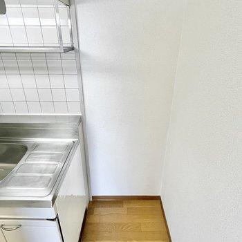 冷蔵庫スペースは確保されていますよ。