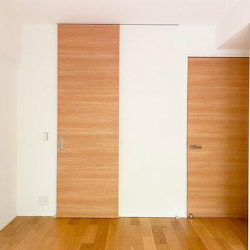 【洋室ー南西】収納スペースを見てみましょう。