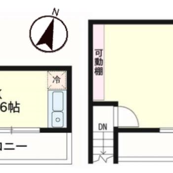 メゾネットプランのお部屋。