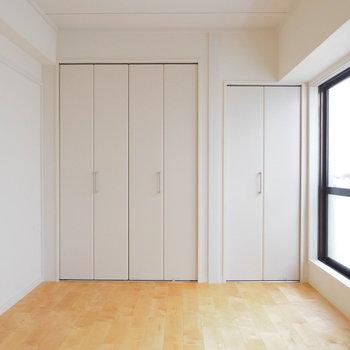 【イメージ】扉で仕切っても大きなひとつの空間にしても※クローゼットはひとつです