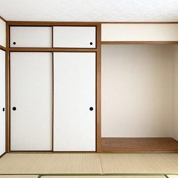 【和8】床の間も和の空間演出。