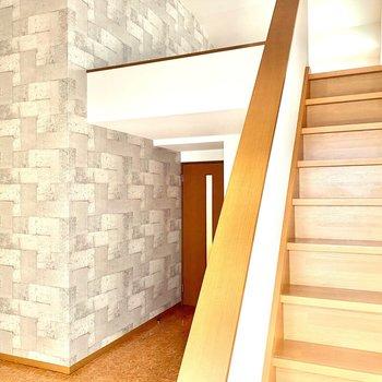 階段の上はオフタイム