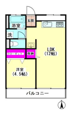 第1山田ビルの間取り図