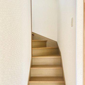 2階へのぼってみましょう〜