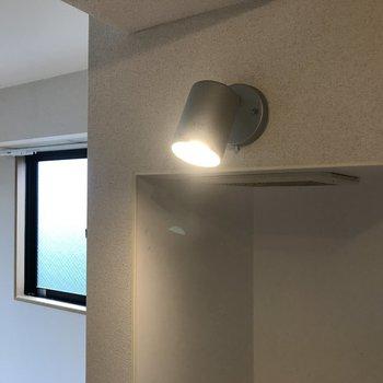 ライトがあってシンクも使いやすそう。