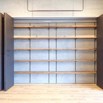 本屋さんを開けそうな棚!