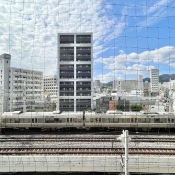 眺望は電車ビュー!
