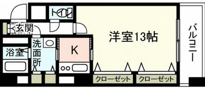 TOUKAKUINの間取り図