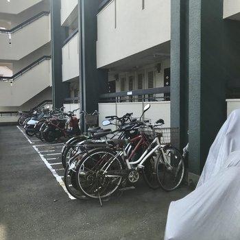 駐輪場もありますよ!