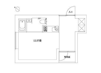 東玉川アパートメントの間取り