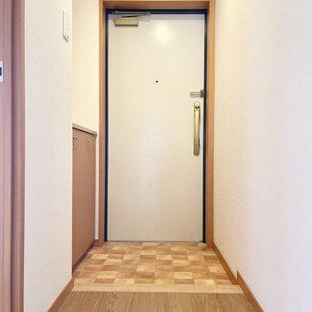 ゆったり玄関です。
