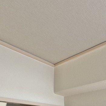 〈洋室4.5帖〉グレーの天井もやさしい雰囲気のひとつかも◎