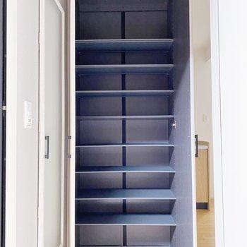 【1階】ビックサイズのシューズボックス。30足以上入りますよ。