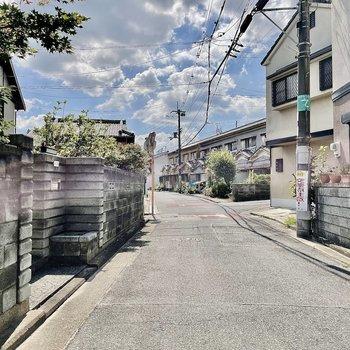 【周辺環境】の〜〜んびりとした街並みでずっとお散歩していたくなっちゃいました。