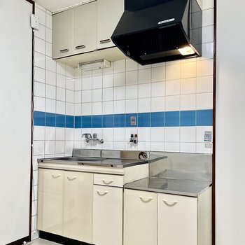 大きめのキッチンです。
