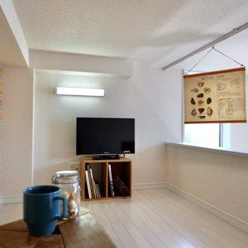 ロフトは比較的天井が高い印象。