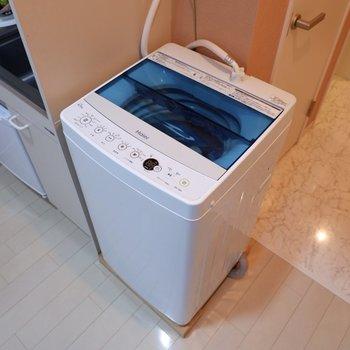 洗濯機もあります。※不要な家電は相談可能・入居中の故障については保証いたしかねます